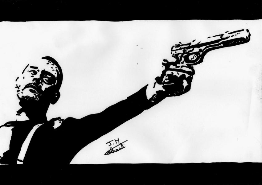 Jean Reno by Fantomas
